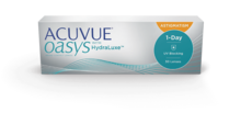 ACUVUE OASYS® 1-DAY with HydraLuxe™ TECHNOLOGY for ASTIGMATISM